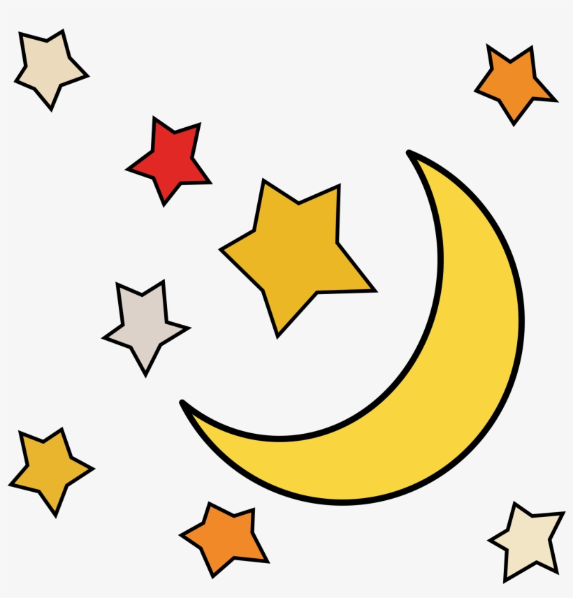Sun Moon Stars Clipart At Getdrawings - Moon And Star Clip ... (820 x 856 Pixel)