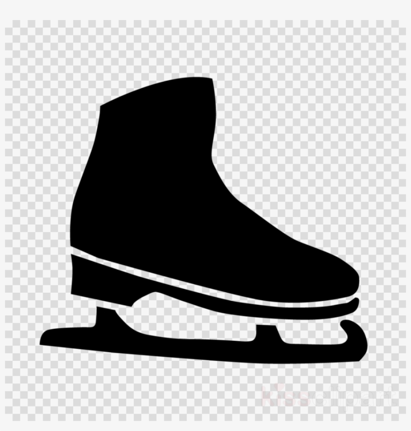Ice Clipart Ice Skater - Transparent Ice Skates Clipart, HD Png Download -  kindpng