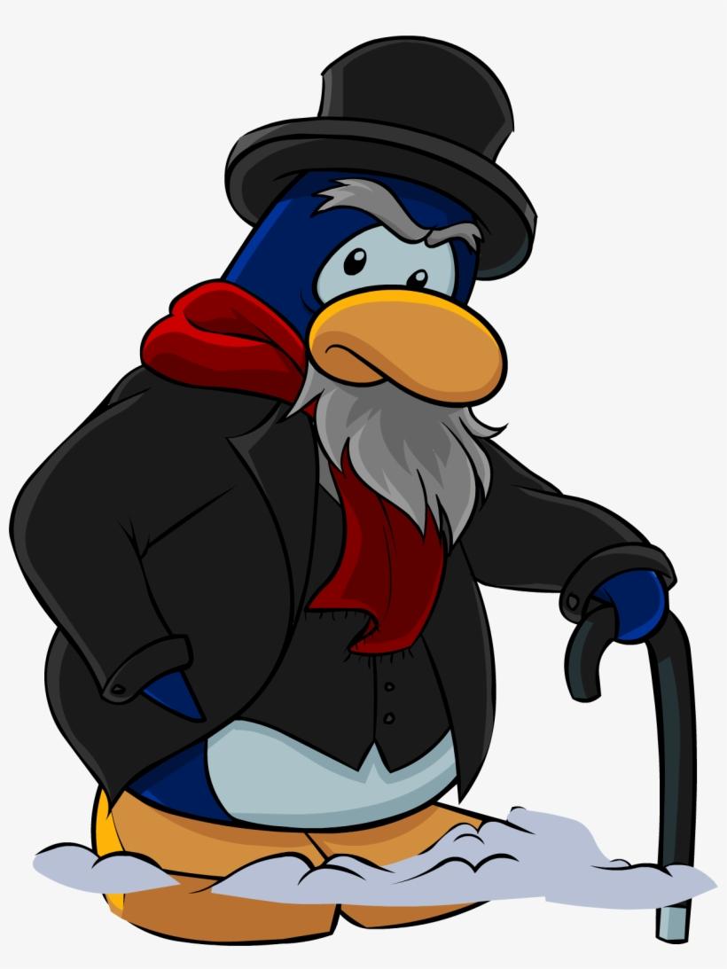 Scrooge Christmas - Club Penguin