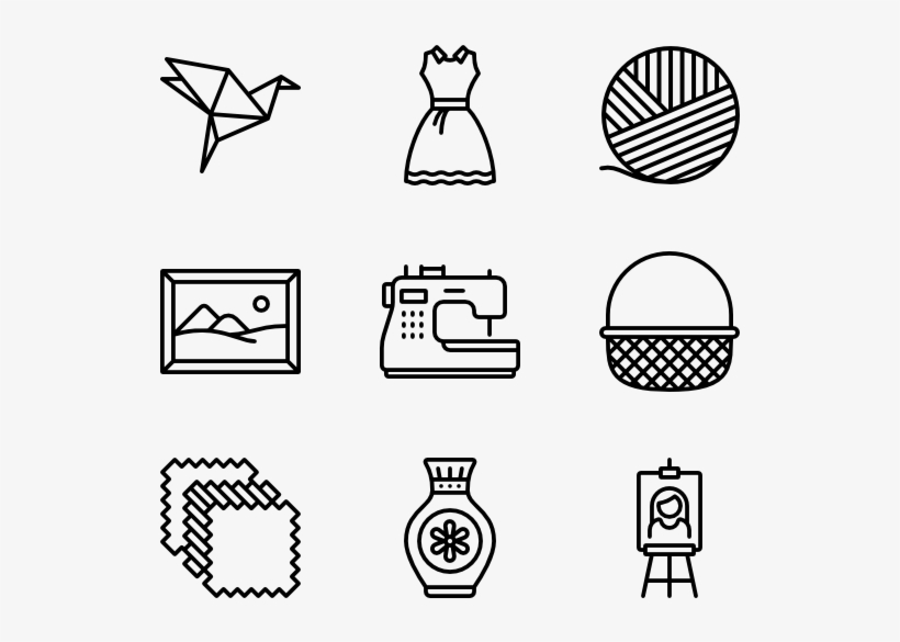 Handcraft Hobbies Icon Png Transparent Png 600x564 Free Download On Nicepng