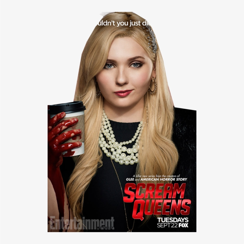 Scream Queens Main Character Transparent Png 500x741 Free
