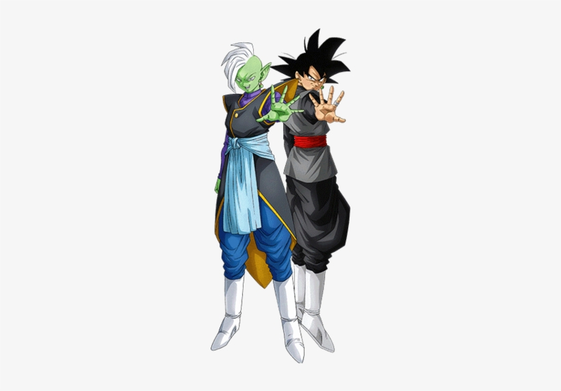 Goku Black And Zamasu By Eduardoalopez Dragon Ball - Distorted ...