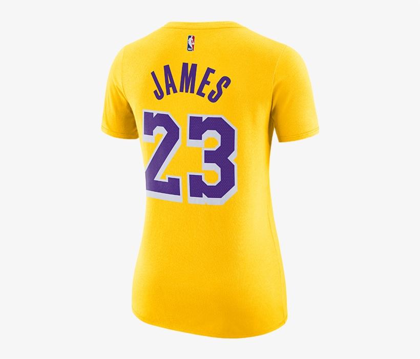 c13944edc58 Los Angeles Lakers Lebron James Women's Icon Player - Lakers Lebron T Shirts