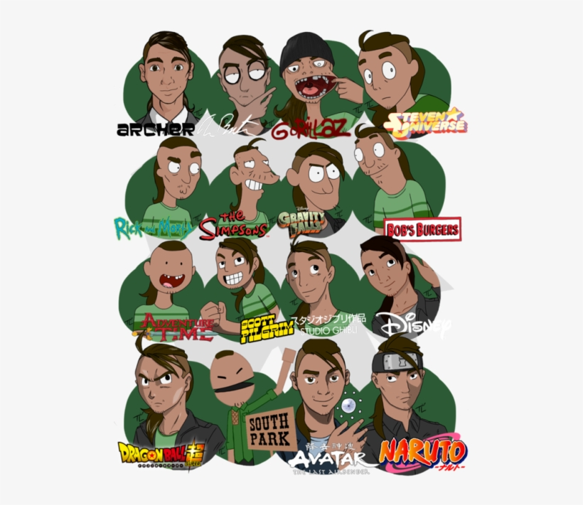 My 20 Art Challenge 20 Art Style Challenge South Park Transparent Png 500x666 Free Download On Nicepng