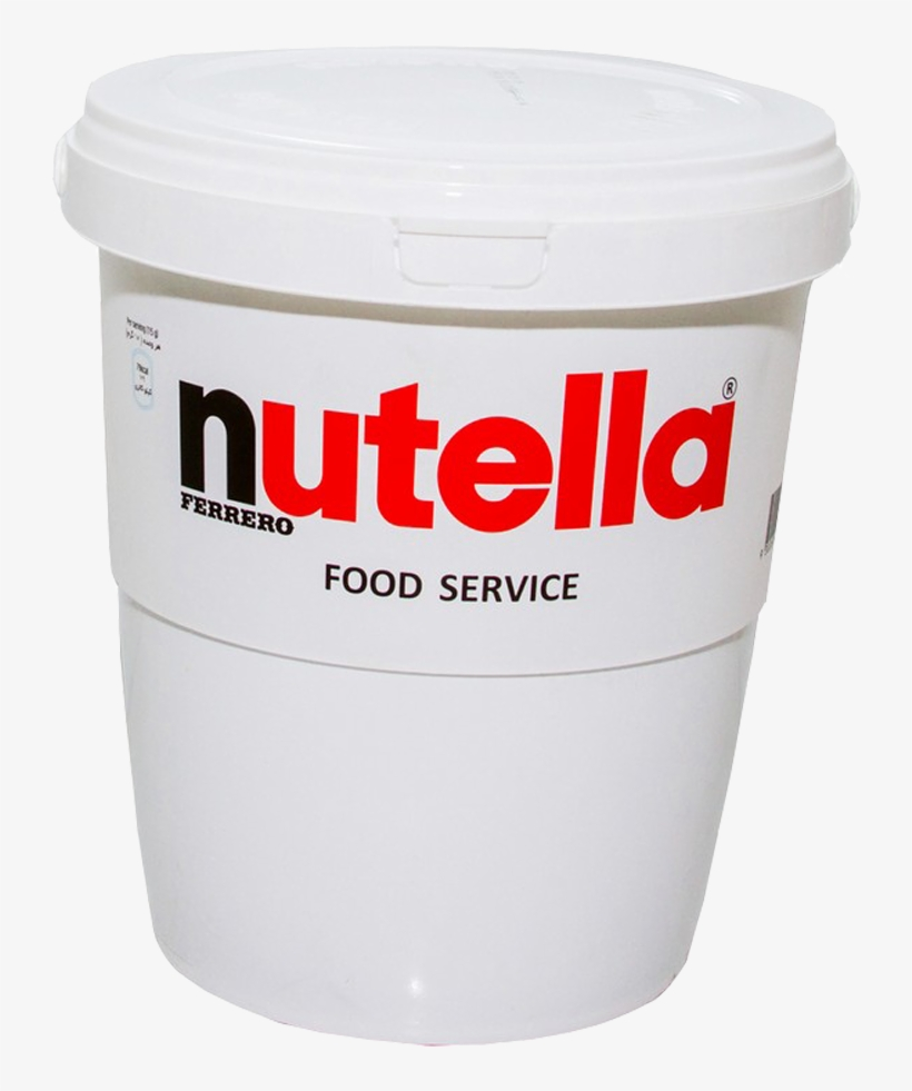 Nutella Spread 3 Kg Nutella 3kg Transparent Png