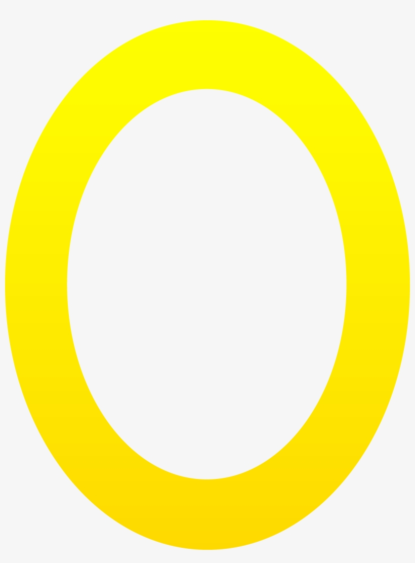 Letter Clipart Yellow Letter O Free Clip Art Transparent Png 5466x7151 Free Download On Nicepng