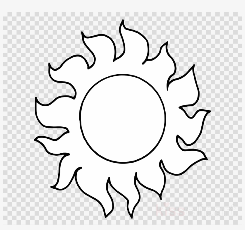 Sun Black And White Clipart Black And White Clip Art Cartoon