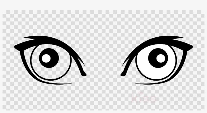 Cartoon Eyes Clipart Eye Cartoon Clip Art Transparent Png