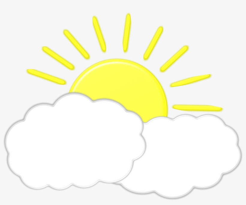 Sun cloud. And clouds clipart png