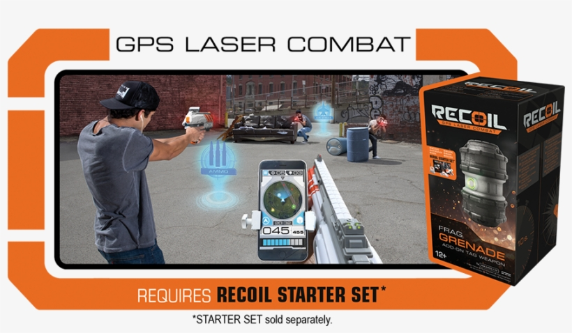 Recoil Frag Grenade - Recoil Multiplayer Starter Set With Wi