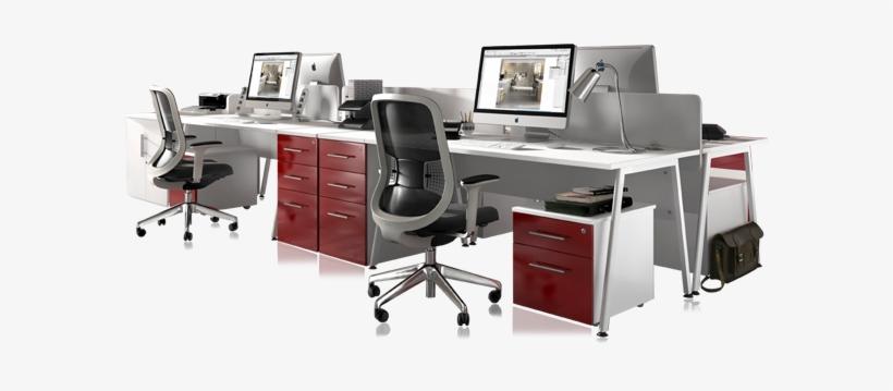 Fantastic Large Computer Desk Computer Tables Office Transparent Office Furniture Png Transparent Png 591x279 Free Download On Nicepng