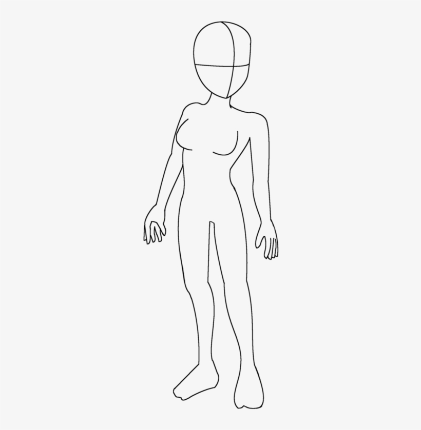 Gallery Girl Anime Body Base Drawings Art Gallery Png Human Transparent Png 756x1057 Free Download On Nicepng