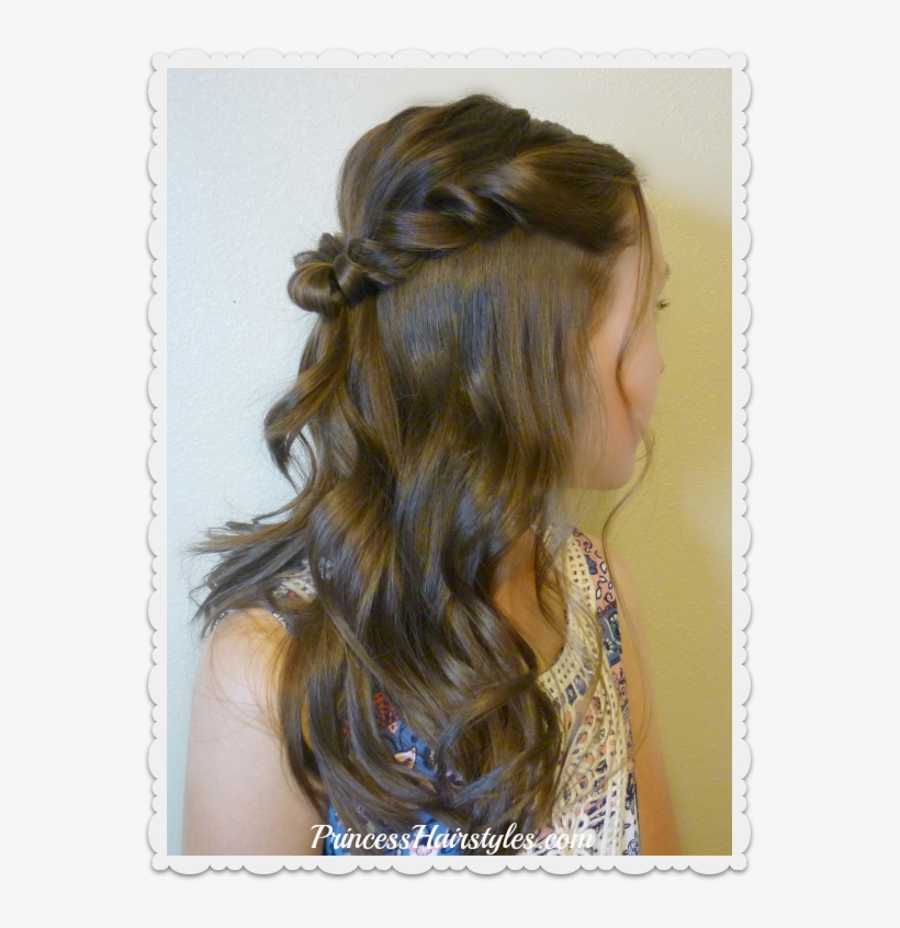 Pretty Prom Hairstyle Hairstyle Transparent Png 563x766 Free