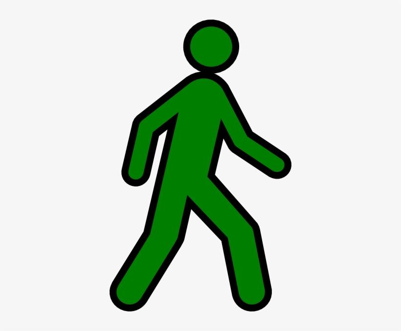 Person Walking Away Clipart - Green Stick Figure Walking ... Stick Man Walking Away