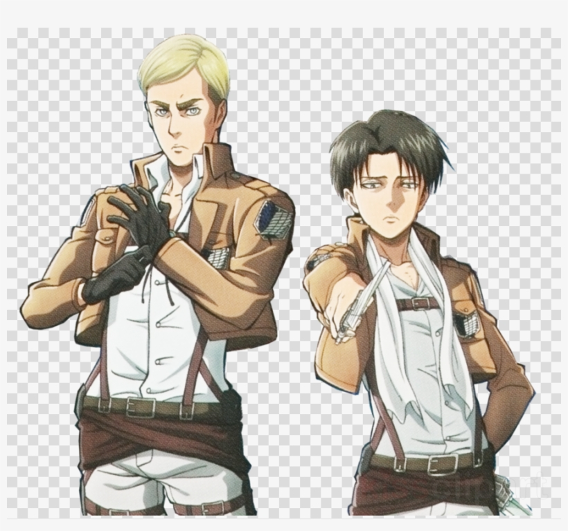 Attack On Titan Erwin Transparent Clipart Levi Eren Gree Attack On Titan Levi Card Game Character Sleeves Transparent Png 900x800 Free Download On Nicepng