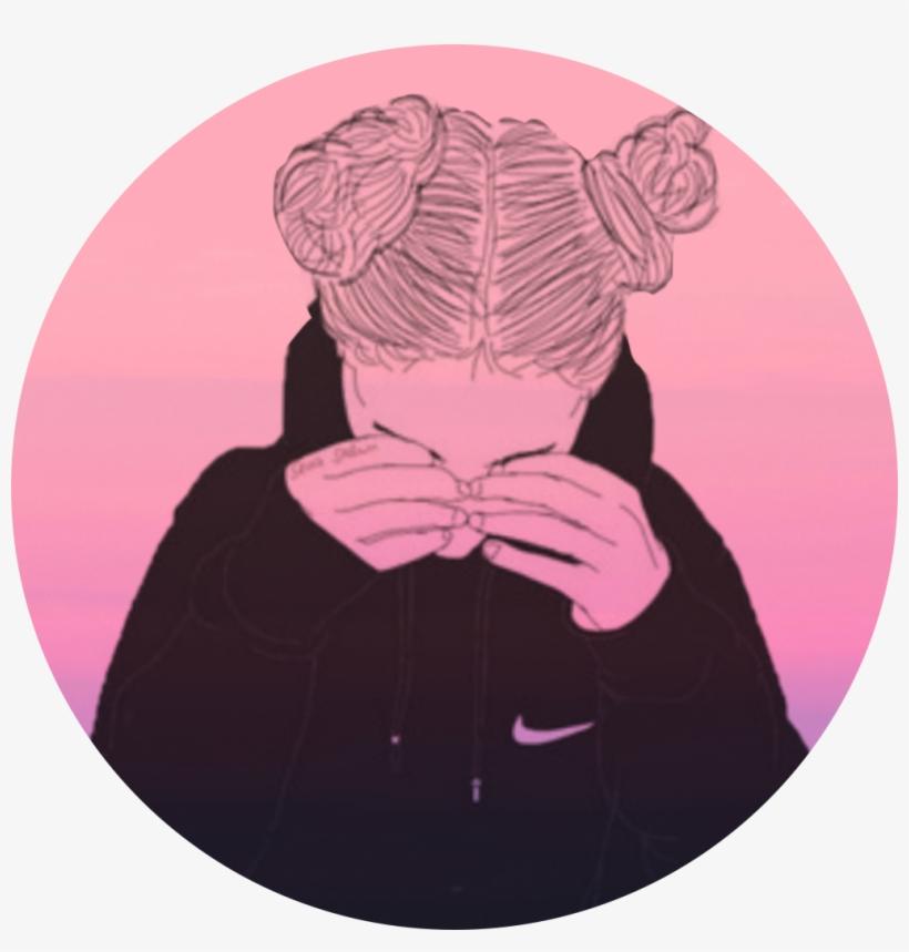 Icon Tumblr Girl Pink Tumblrgirl Black And White Jar Drawing