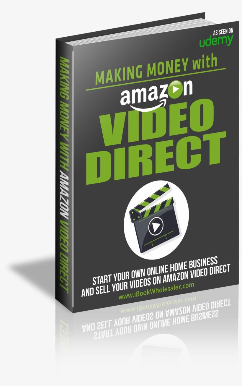 Plrdemy amazon video direct course dvd transparent png.