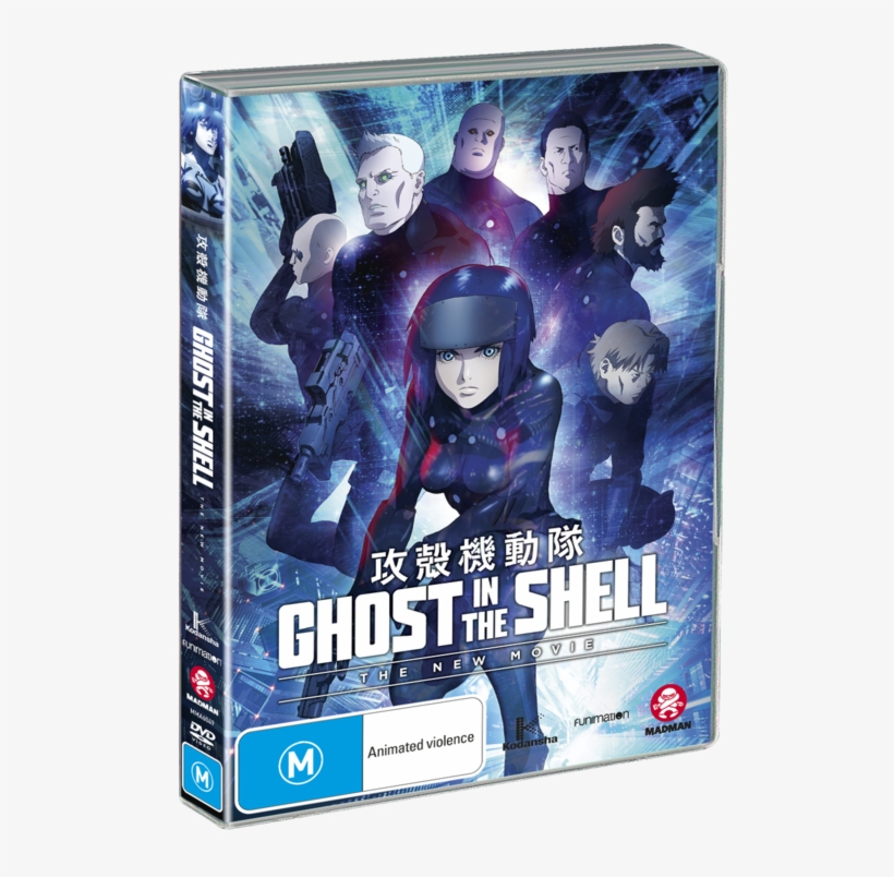 Ghost In The Shell Ghost In The Shell The New Movie Blu Ray Transparent Png 516x724 Free Download On Nicepng