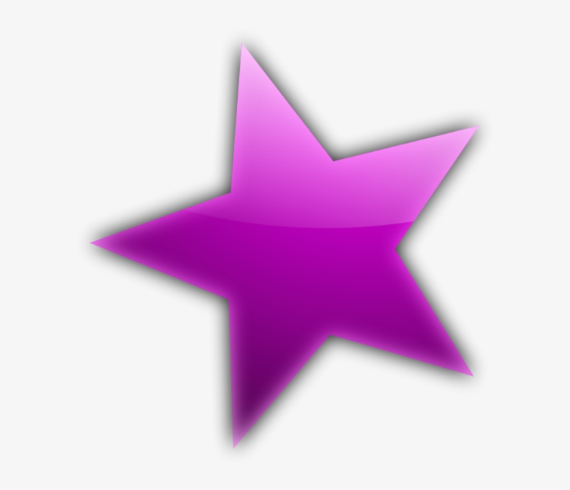 Stars purple. Star flower clipart clip