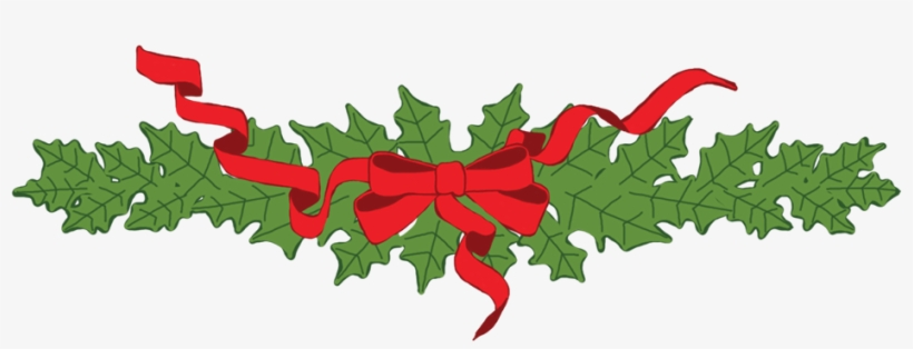 Contact Garland Png Illustration Of Christmas Garland Transparent