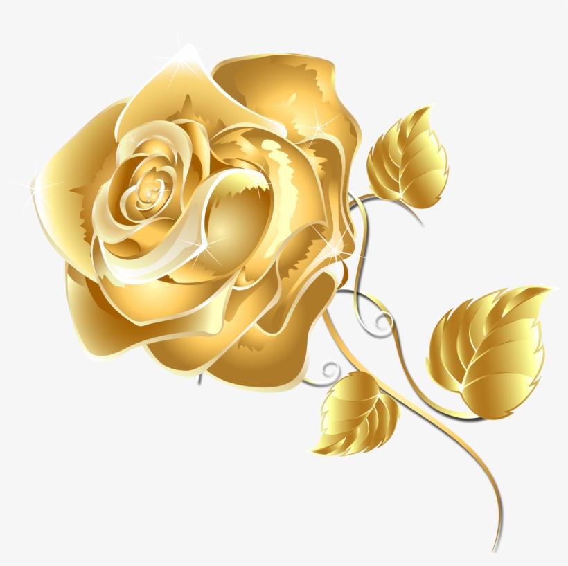 Rose Gold Flower Png Graphic Black And White Stock - Introduction A La Symbolique Hermetique ...