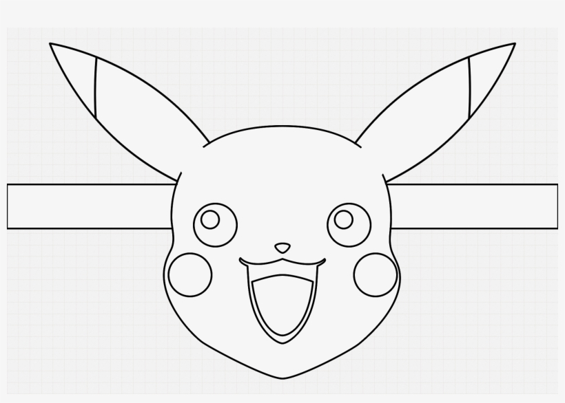 Pikachu Face Mask Blank For Colouring Face Transparent Png 1920x1280 Free Download On Nicepng If you like lion face tattoo outlines, you might love these ideas. pikachu face mask blank for colouring