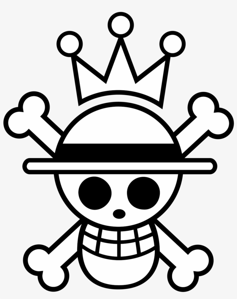 Drawn Flag One Piece Luffy One Piece Flag Transparent Png
