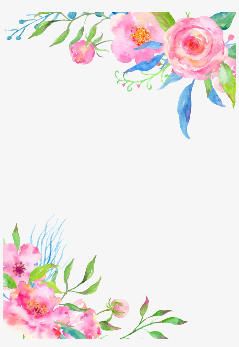 This Backgrounds Is Simple Pink Flower Cartoon Transparent Fondo