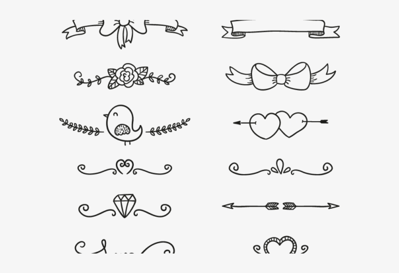 Decoraciones Para Cuadernos En Las Hojas Diseño Artesanal