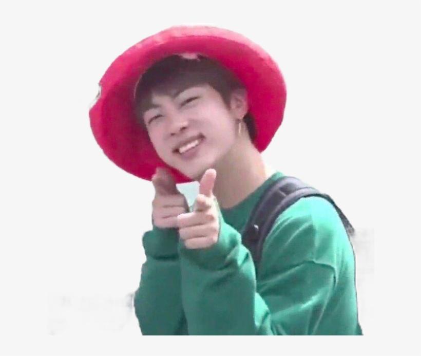 Jin Kimseokjin Bts Btsmeme Btsmemes Kpop Korea Happy Bts Heart