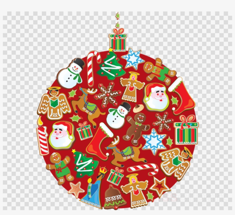 Christmas Clipart Transparent Background.Download Christmas Cookie Clipart Christmas Ornament