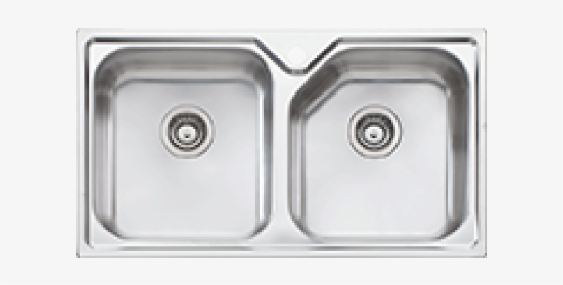 Sink Top View Images Oliveri Np63u Nu Petite Double Bowl Undermount Sink Transparent Png 600x600 Free Download On Nicepng