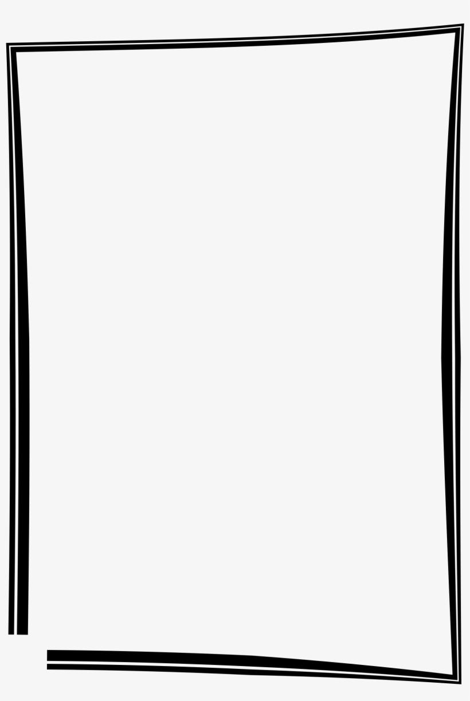 Simple Frame Border Design - Black Picture Frame Clipart ...