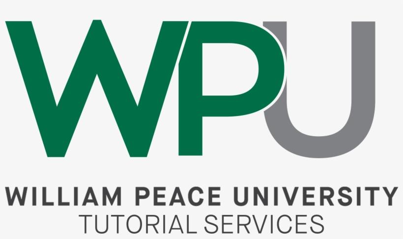 Wpu Tutorial Services New Full Logo 2017 - Nyu Transparent