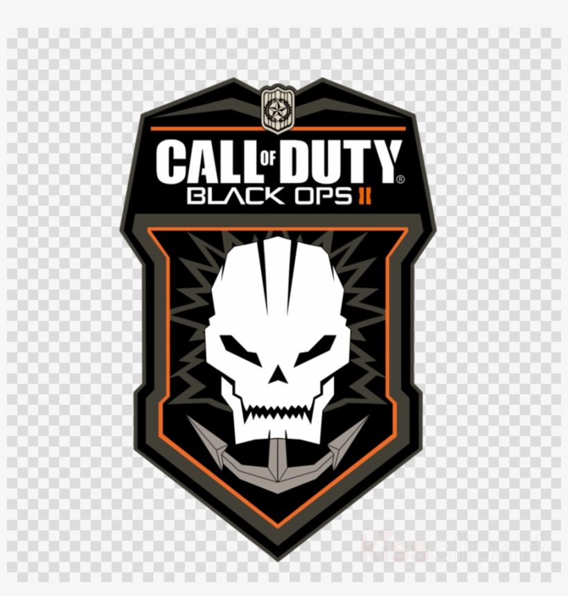 Call Of Duty Logo Call Of Duty Black Ops 2 Transparent Png