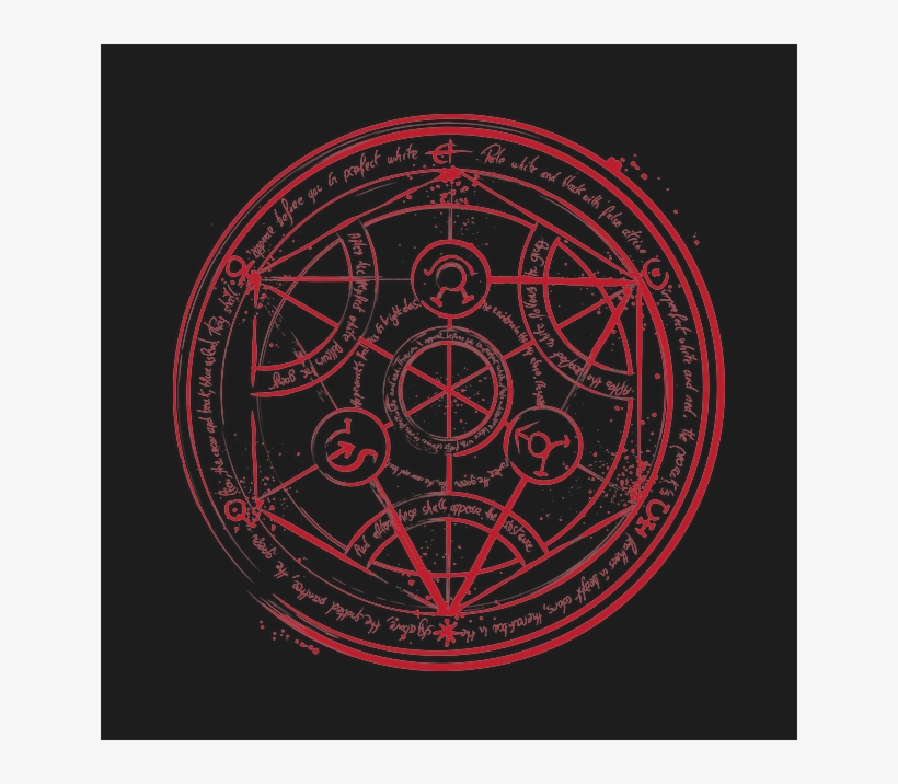 Dr Monekers Transmutation Circle Transmutation Fullmetal