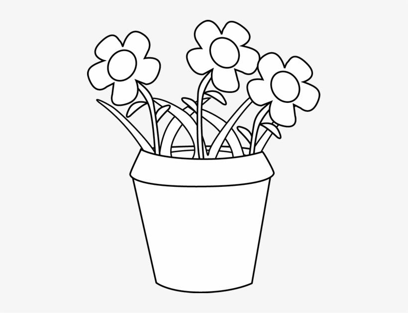 Svg Black And White Clipart Flower Pot - Flowers Pot Clipart Black And White  sc 1 st  NicePNG & Svg Black And White Clipart Flower Pot - Flowers Pot Clipart Black ...