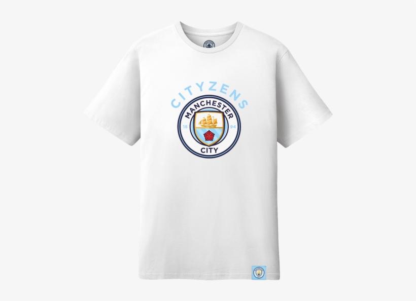 486ae532e Manchester City Cityzens Logo T-shirt - Fc Barcelona More Than A Club T  Shirt