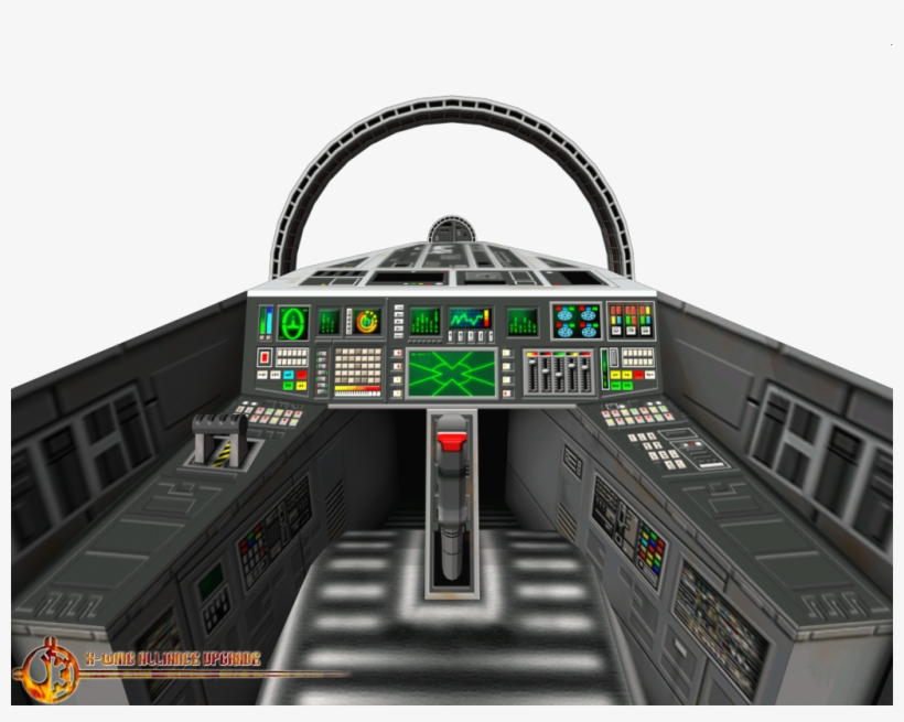 Star Wars A Wing Cockpit Transparent PNG - 1024x768 - Free Download