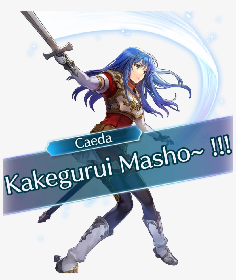 Caeda Saying Kakegurui Masho Caeda Fire Emblem Transparent Png