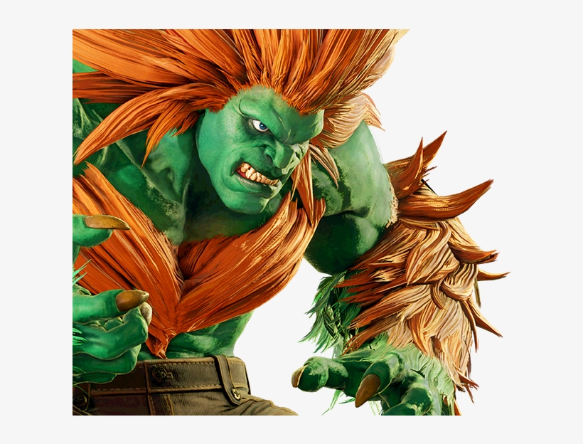Street Fighter Blanka Transparent PNG - 659x543 - Free
