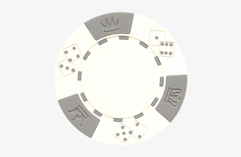 Clay Composite Triple Crown Poker Chips 50 White Poker Chip Png Transparent Png 464x461 Free Download On Nicepng