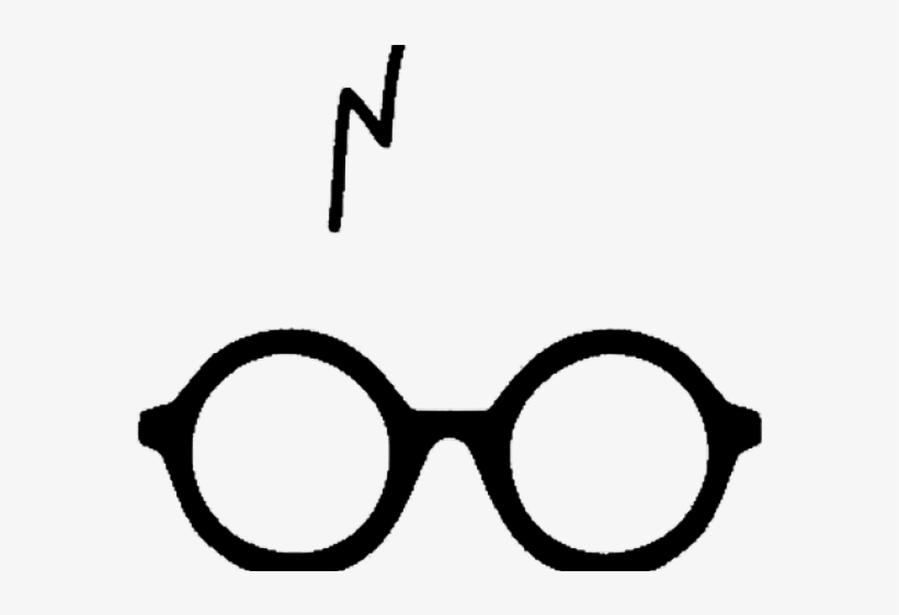 picture regarding Harry Potter Glasses Printable referred to as Harry Potter Clipart Gl - Harry Potter Tattoo Gles