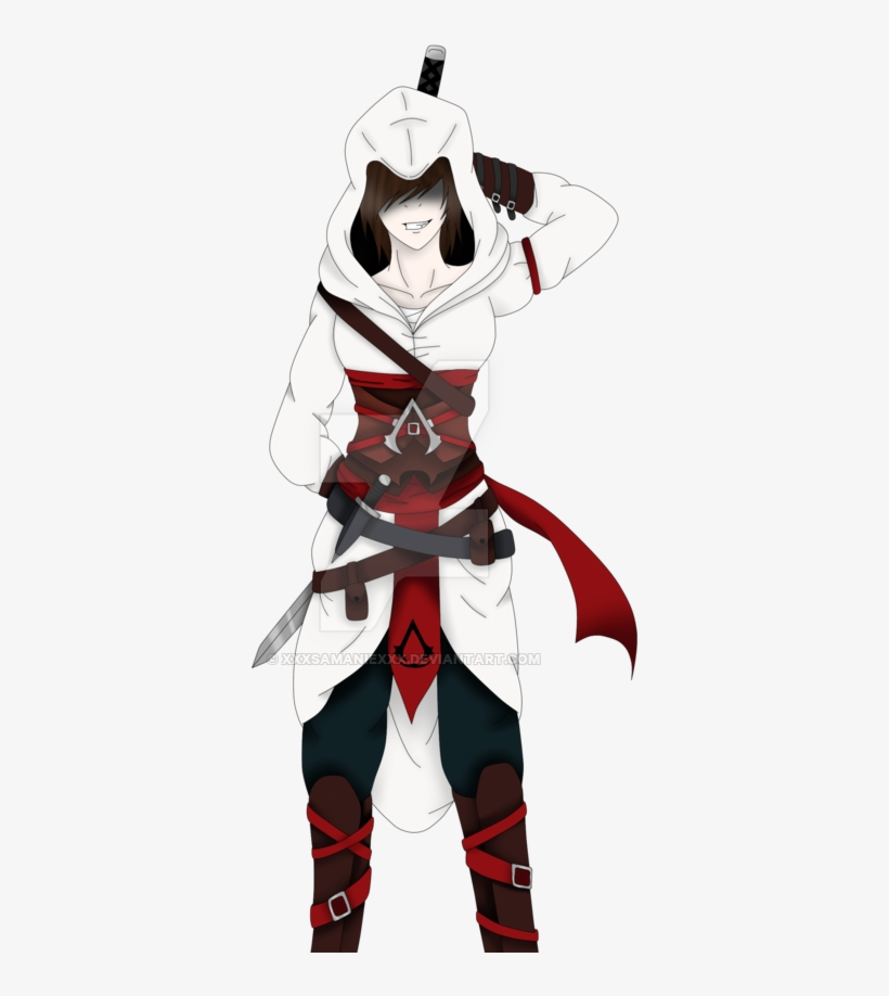 By The Creed Assassin S Creed Female Oc Transparent Png