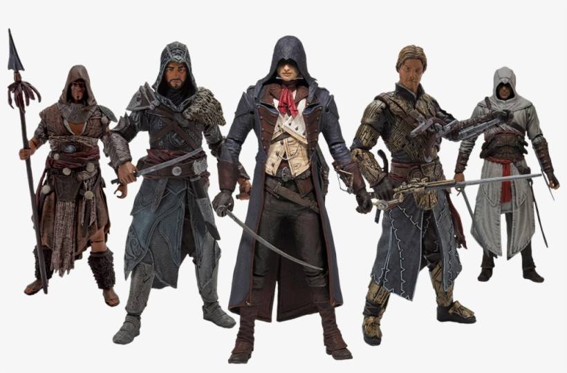 Assassin S Creed Action Hd Assassin S Creed Figures Series 3 Transparent Png 1000x610 Free Download On Nicepng