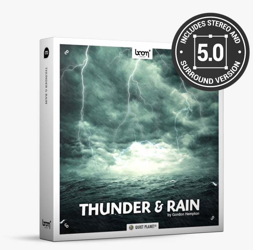 Thunder And Rain Nature Ambience Sound Effects Library