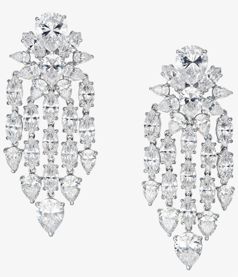 Annabelle Omega Statement Clip Earrings Large Faux Diamond Chandelier Earrings Transparent Png 1200x1089 Free Download On Nicepng