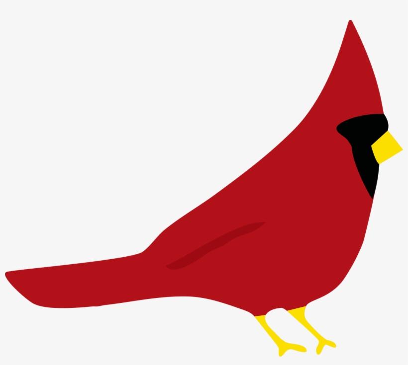 3f27fa40 Banner Transparent Birds Svg Cardinal - Red Cardinal Svg Transparent ...