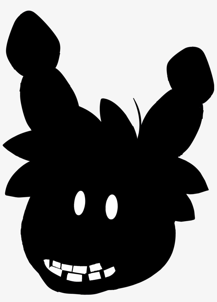 Puffle Shadow Bonnie Five Nights At Freddy S Club Penguin Five Nights At Freddy S 4 Club Penguin Transparent Png 2000x2687 Free Download On Nicepng