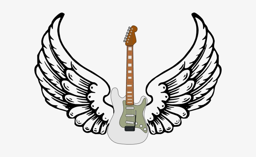 Stratocaster Guitar Clipart
